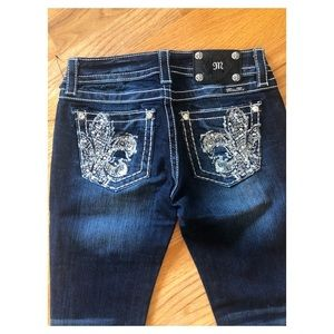 NWT Miss Me 26 boot cut jeans